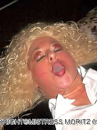 Femdom, Blonde milf