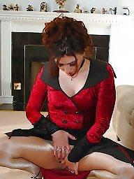 Lady, Upskirt stockings