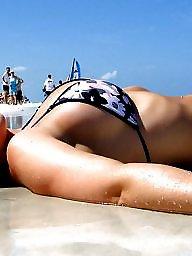 Bikini, Beach, Micro bikini, Bikini beach, Beach babes