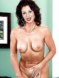 Naked, Mature lady