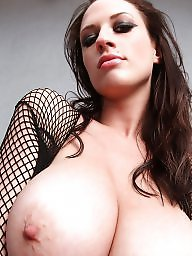 Big tits, Fishnet