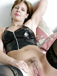 Latex, Leather, Mom, Mature leather, Mature mom, Amateur moms