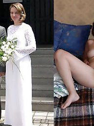 Bride, Dressed undressed, Dress undress, Milf stockings, Undressing, Undressed