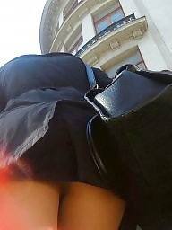 Nylon, Skirt, Spy, Nylons, Upskirts, Teen skirt