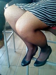 Milf stockings, Voyeur
