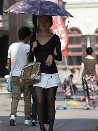 Chinese, Public asian, Asian stockings