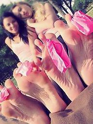 Feet, Femdom, Teen feet