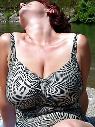 Mature beach, Big mature, Mature boob, Beach mature