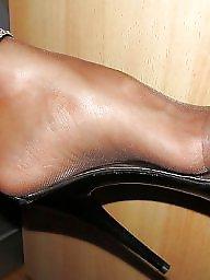 Nylon, Nylon feet, Nylons feet