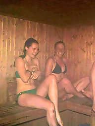 Sauna, Swedish, Beach porn