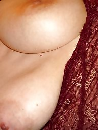 Tease, Mature boobs