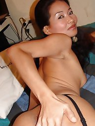 Asian stockings, Asian milf