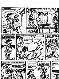 Vintage, Funny cartoon, Vintage cartoons