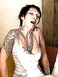 French, Tattoo, Milf anal, Tattooed, French milf, Anal milf