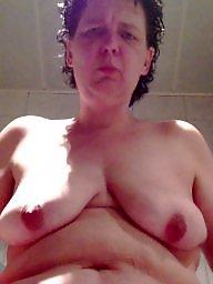 Mature boobs, Bbw wife