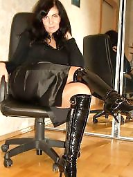 Milf stockings, Sexy mature