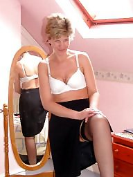 Dress, Uk mature, Dressed, Mature dress, Mature stocking, Mature dressed
