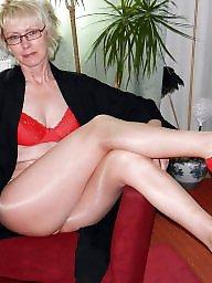 Milf stockings, Stockings, Mature mix