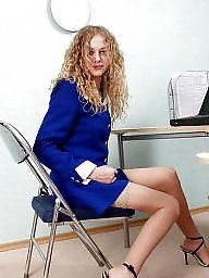No panties, Office