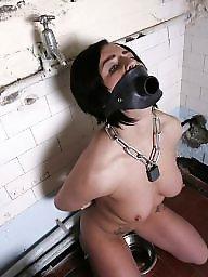 Bondage, Slave, Slaves, Amateur bondage, White, Whore