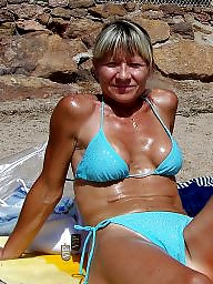 Mature beach, Amateur milf, Beach mature, Sun, Beach milf, Mature love