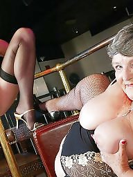Mature, Bbw stockings, Stocking mature