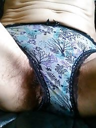 Panties, Panty, Bush, Hairy panties, Hairy amateur, Hairy milf
