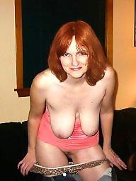Redhead wife, Exposed, Slut wife, Big sluts