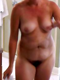 Wife, Shower, Amateur milf, Wifes, Before and after