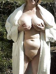 Neighbor, Naked, Naked mature, Garden