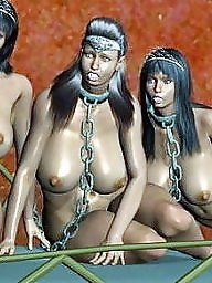 Slave, Bondage, Cartoon, Bdsm cartoon, Femdom cartoon, Slaves