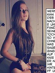 German, Old, Caption, German captions, German caption, German amateur
