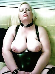 Latex, Leather, Strapon, Pvc, Bbw femdom, Mature latex