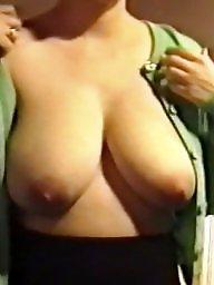 Big, Voyeur tits, Sagging tits, Big tits voyeur