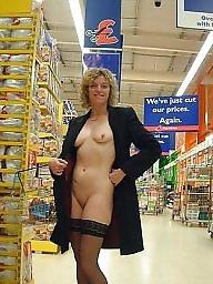 Shopping, Shop, Mature slut