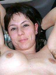 Hairy milf, Brunette, Brunette milf, Milf hairy