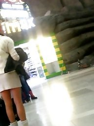 Skirt, Mini skirt, Romanian, Spy cam
