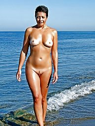 Nudist, Beach, Mature beach, Nudists, Milf mature