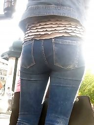 Jeans, Romanian, Young old, Sexy ass, Old ass, Hidden cam