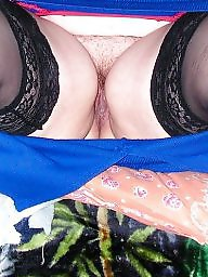 Hairy, Spreading, Spread, Hairy bbw, Nylons, Hairy spread