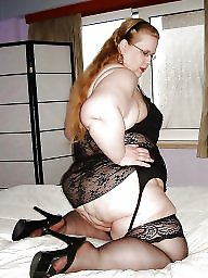 Fat, Fat bbw, Mature stocking, Bbw stockings