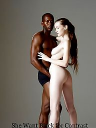 Interracial, Beauty, Beautiful, Black girls, Girl and girl, Ebony interracial