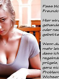 Captions, German captions, German, Teens, German caption, Teen stockings