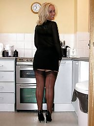 Office, Lady, Nylons, Office ladys
