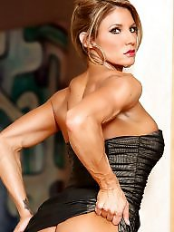 Fitness, Women, Muscular, Milf tits