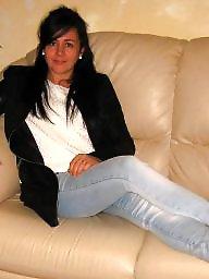 Italian, Stockings, Mature stocking, Italian mature