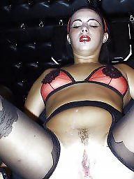 Nylon, Wide, Open, Wide open, Nylons, Mature nylon