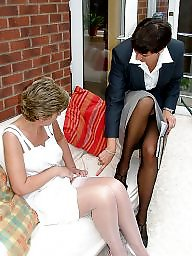 Mature stockings, Uk mature, Matures, Mature uk