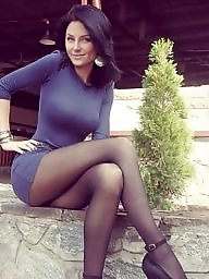 Heels, Stocking milf, Milf stocking, Lesbians milf