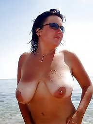 Nature, Natural tits, Amateur big tits